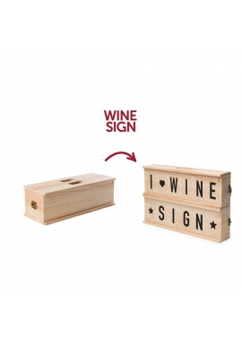 RackPack Vingave 'Wine Sign'